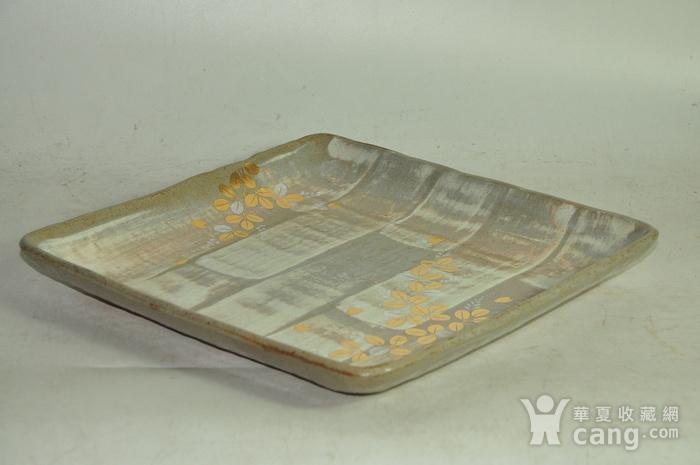 日本橘吉金彩瓷盘图3