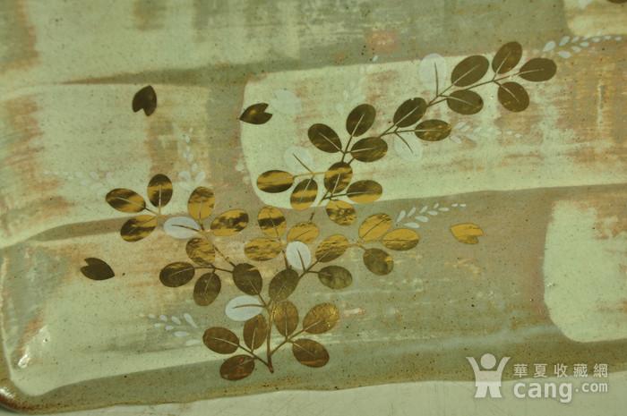 日本橘吉金彩瓷盘图6