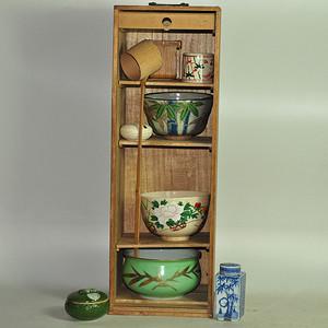 日本茶道器皿八件套