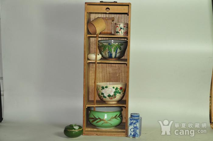 日本茶道器皿八件套图1