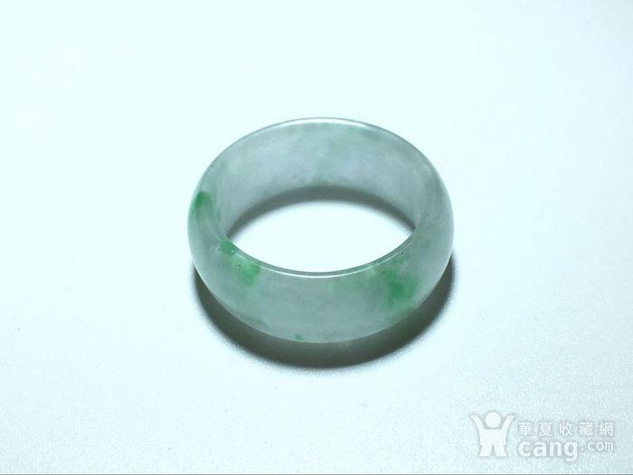 翡翠冰种 飘阳绿 戒指 冰种水头非常好图1