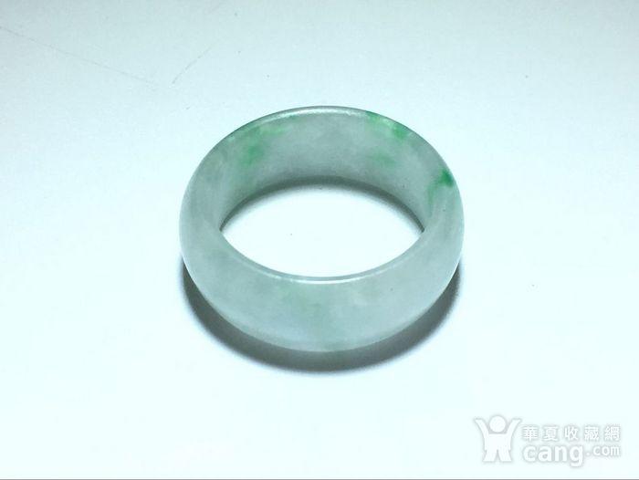 翡翠冰种 飘阳绿 戒指 冰种水头非常好图8