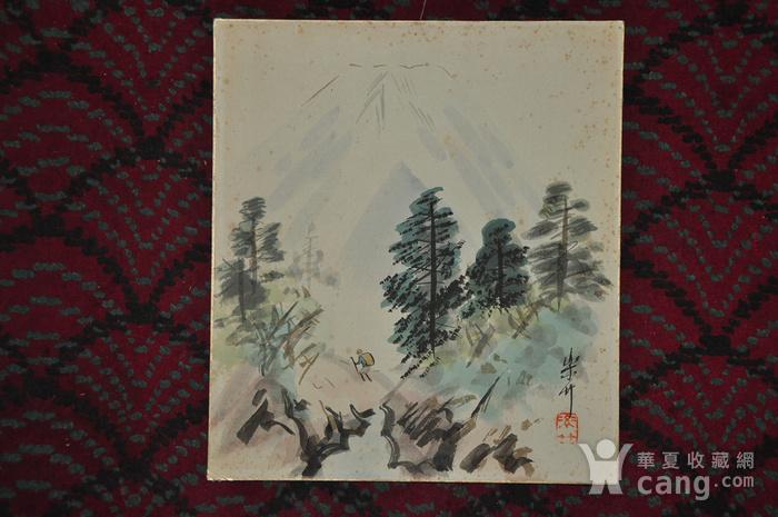 日本粉彩水墨画图2