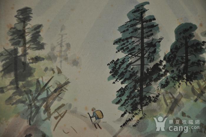 日本粉彩水墨画图3