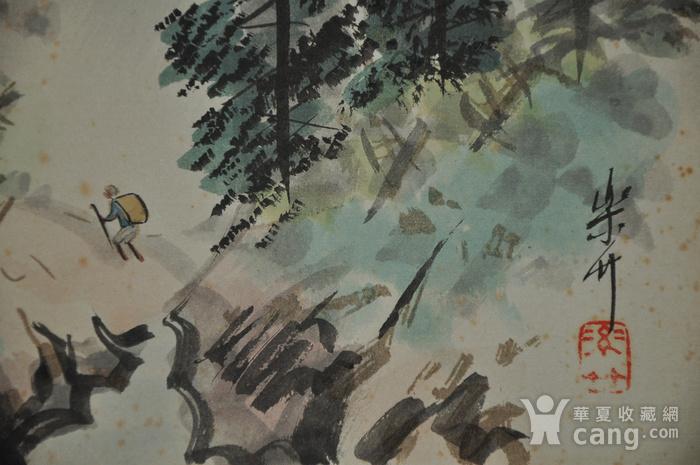 日本粉彩水墨画图4