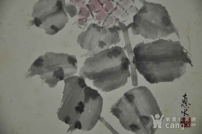 日本粉彩水墨画图10
