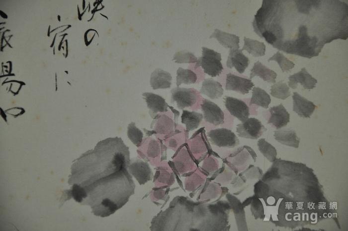 日本粉彩水墨画图11