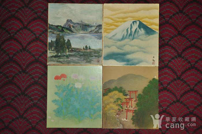 日本画四幅图1