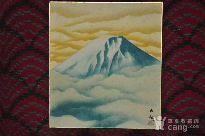 日本画四幅图5