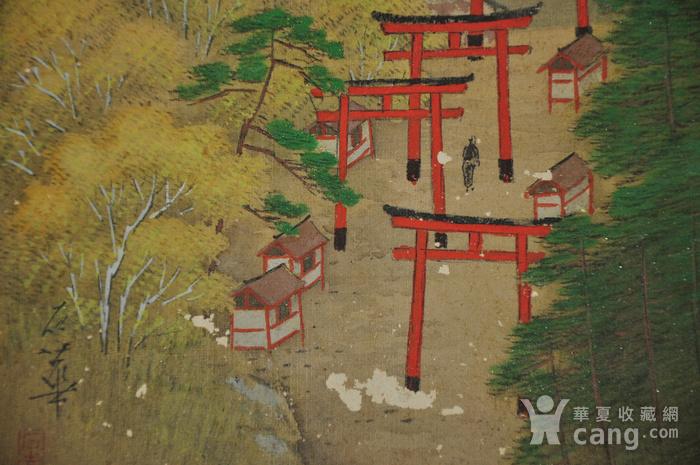 日本画四幅图9