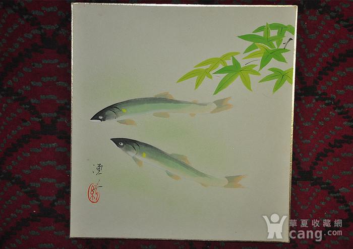 日本画四幅图10