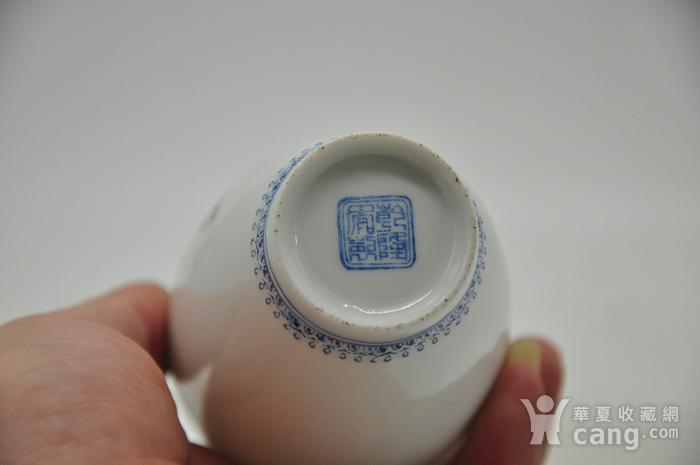 花鸟粉彩薄胎小瓷瓶图12