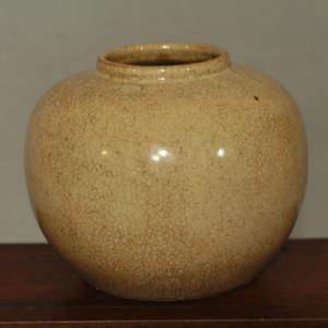 清代哥釉小罐