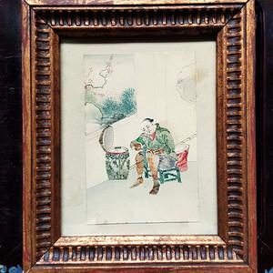 精品 十九世纪钱币画