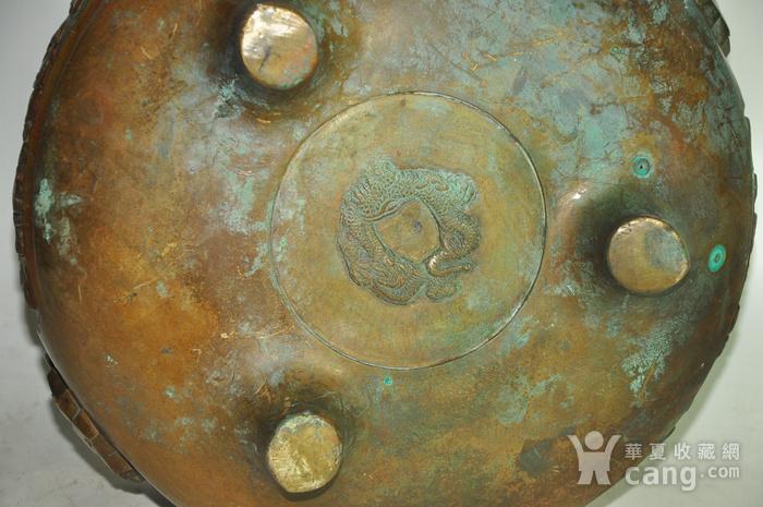 手工攒刻铜香炉图10