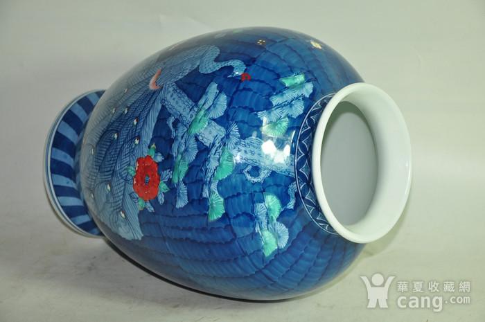 日本有田烧粉彩花瓶图8