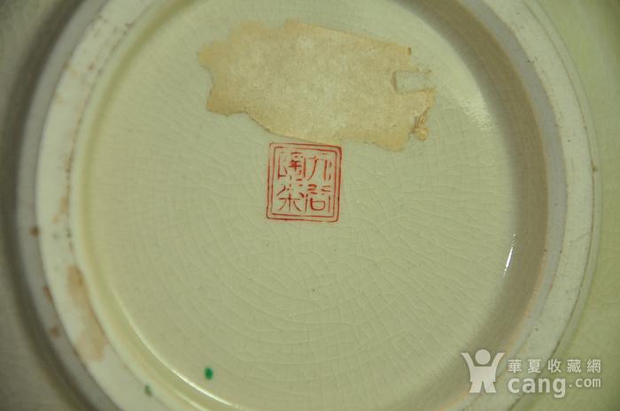 日本九谷烧花瓶图9