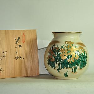 日本九谷烧花瓶