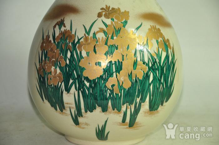日本九谷烧花瓶图3