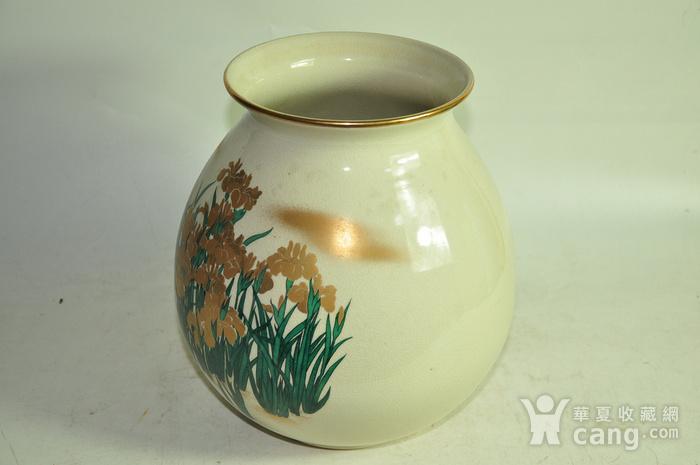日本九谷烧花瓶图5
