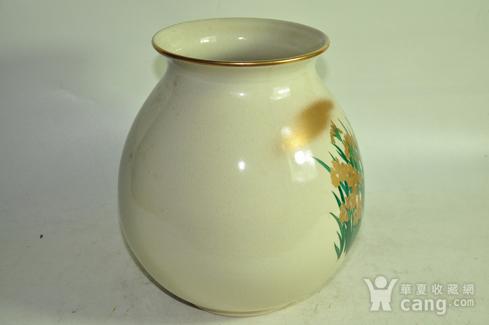 日本九谷烧花瓶图6