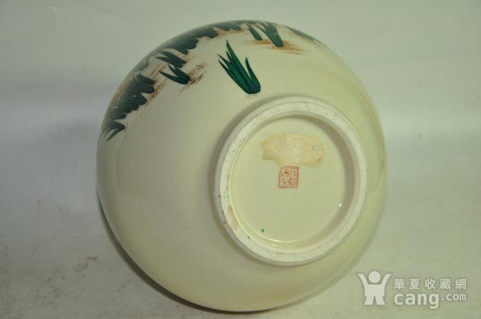 日本九谷烧花瓶图8