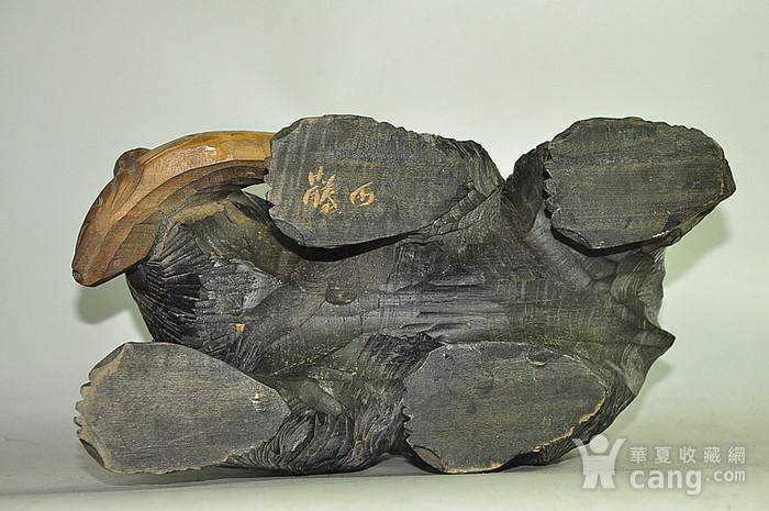 日本50年左右木雕棕熊图12
