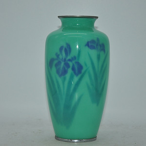 50年左右日本七宝烧花瓶