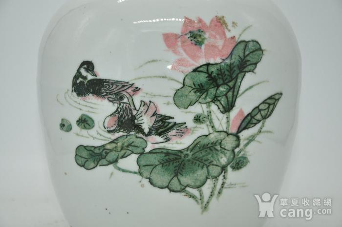 创汇期醴陵釉下彩瓷罐图2