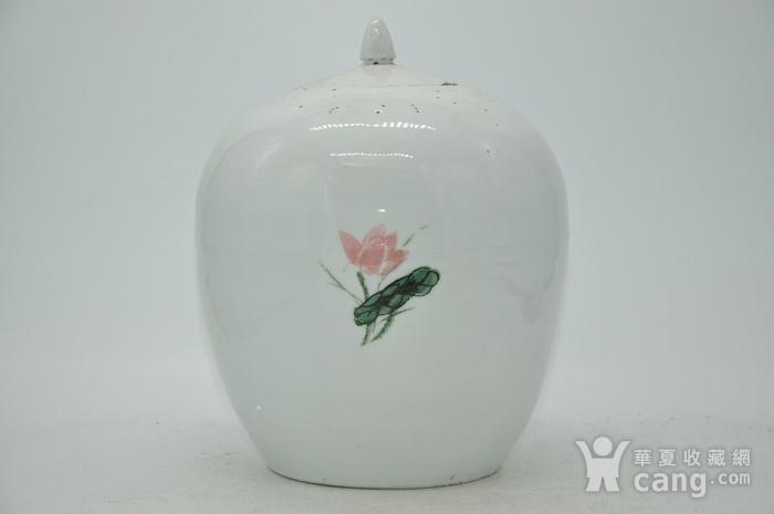 创汇期醴陵釉下彩瓷罐图5