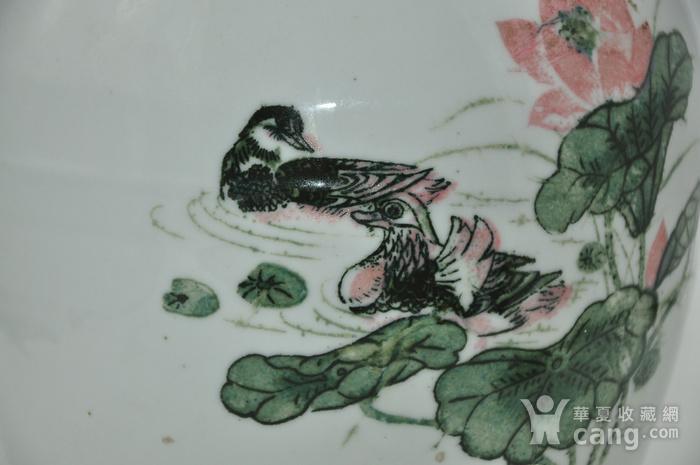 创汇期醴陵釉下彩瓷罐图3
