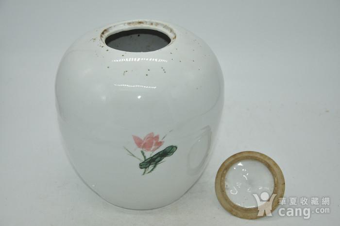创汇期醴陵釉下彩瓷罐图8