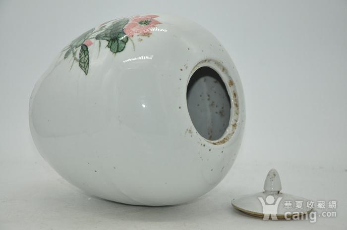 创汇期醴陵釉下彩瓷罐图9