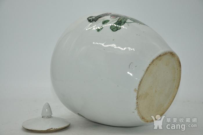 创汇期醴陵釉下彩瓷罐图11