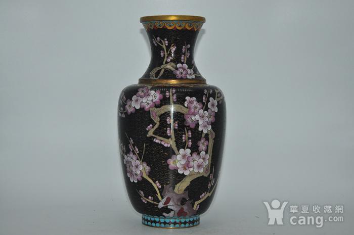 创汇期景泰蓝花瓶图1