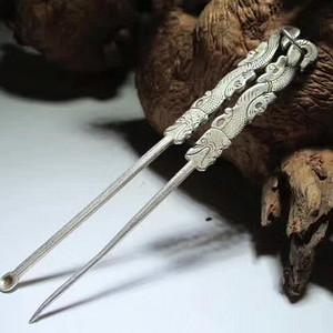龙吞口 耳勺 修指针 工艺精湛保存完整