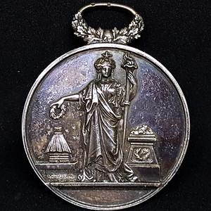 包老保真 1894法国纯银奖牌