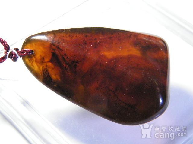 天然琥珀原石挂件22.2克图5