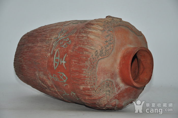 硬陶手工雕刻花瓶图9