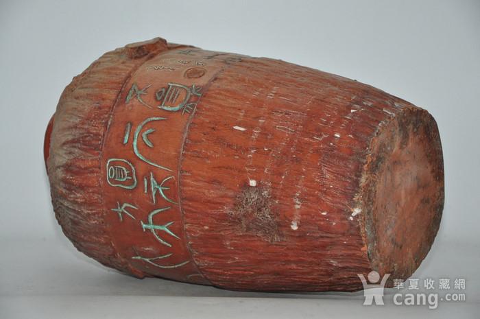 硬陶手工雕刻花瓶图11