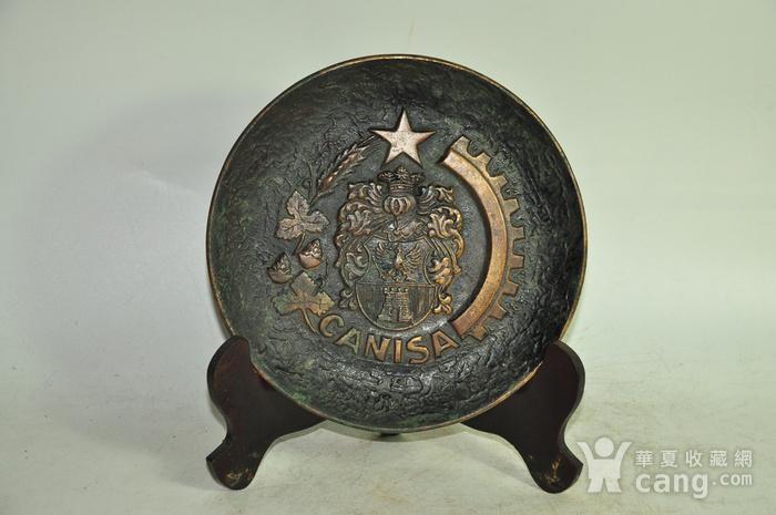 国外铸铜挂盘图7