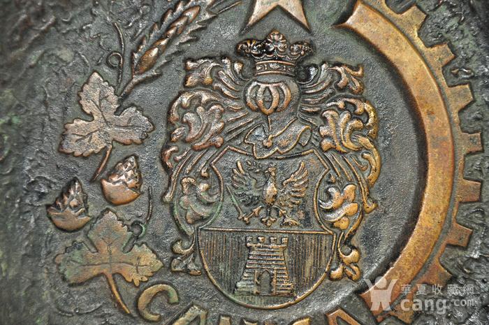 国外铸铜挂盘图2