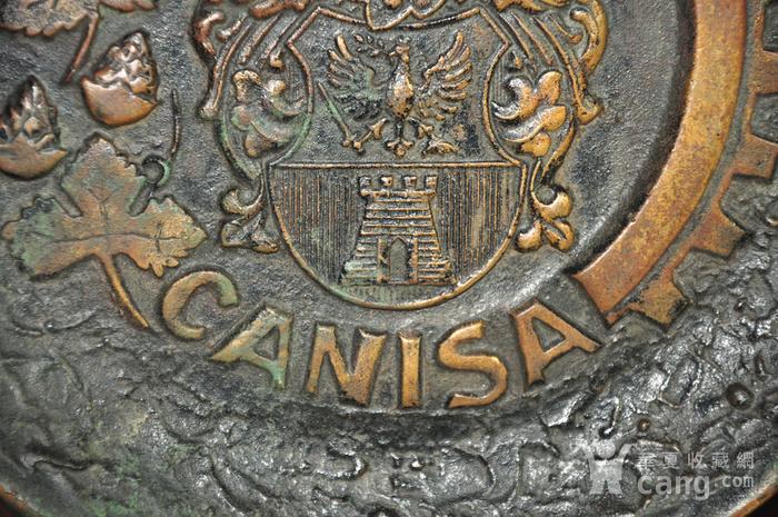 国外铸铜挂盘图4