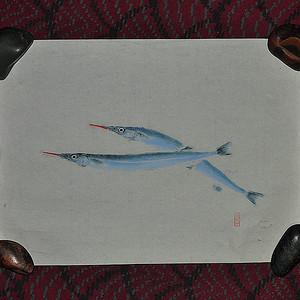 日本鱼拓图