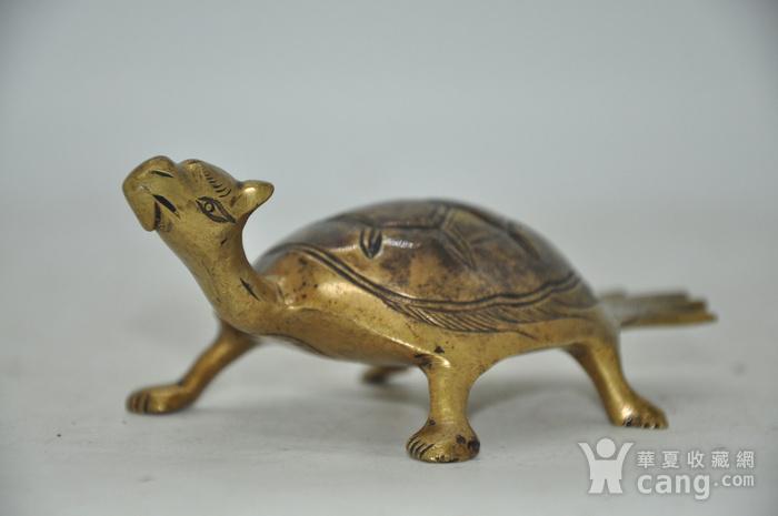 民国时期铜龟镇纸图6