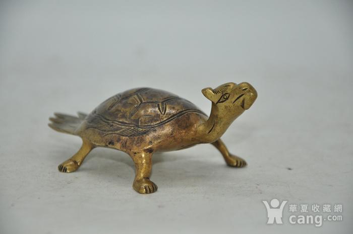 民国时期铜龟镇纸图2