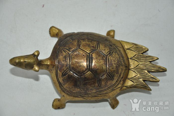 民国时期铜龟镇纸图8