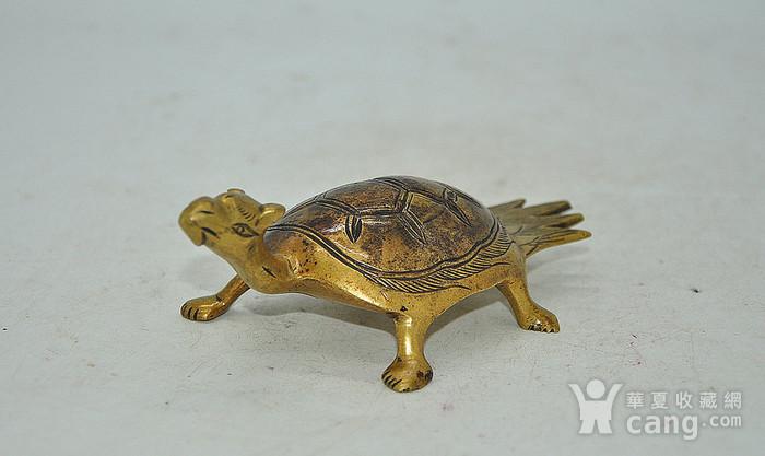 民国时期铜龟镇纸图1