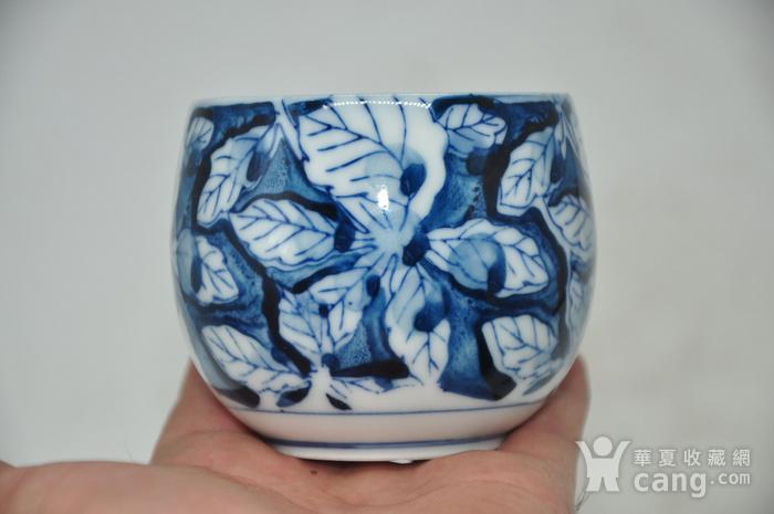 日本青花瓷茶碗五件套图4