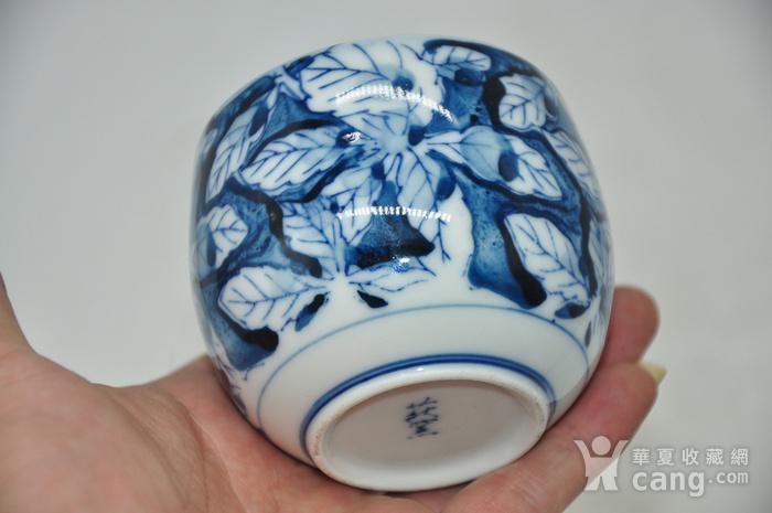 日本青花瓷茶碗五件套图7
